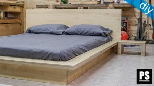 PLYWOOD BED FRAME DESIGN IDEAS