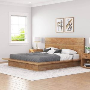 TEAK WOOD BED FRAME IDEAS