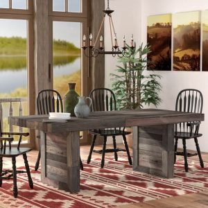 ABBEY SOLID WOOD DINING TABLE IDEAS