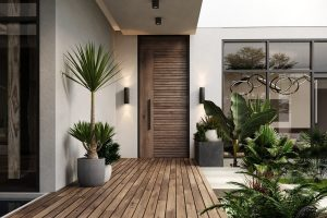 ENCHANTING WOODEN DOOR ENTRANCE DESIGN IDEAS