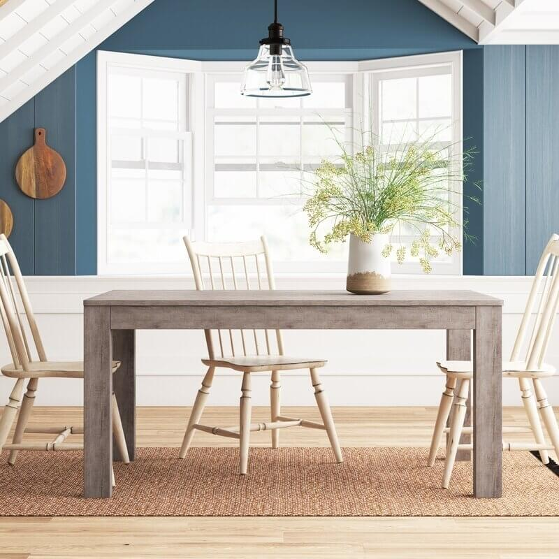 MONTAUK SOLID WOOD PINE DINING TABLE IDEAS