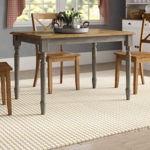 SIMA RUBBER SOLID WOOD DINING TABLE