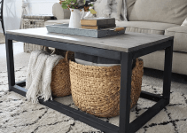 BLACK RECLAIMED WOOD COFFEE TABLE DESIGN IDEAS