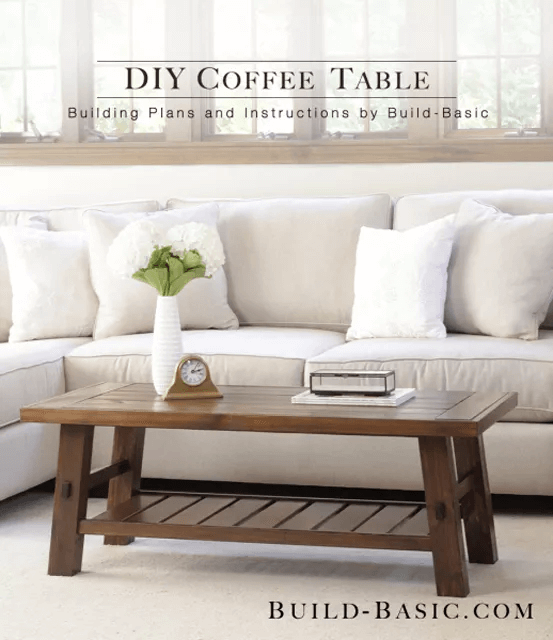 HOW TO BUILD RECLAIMED WOOD COFFEE TABLE