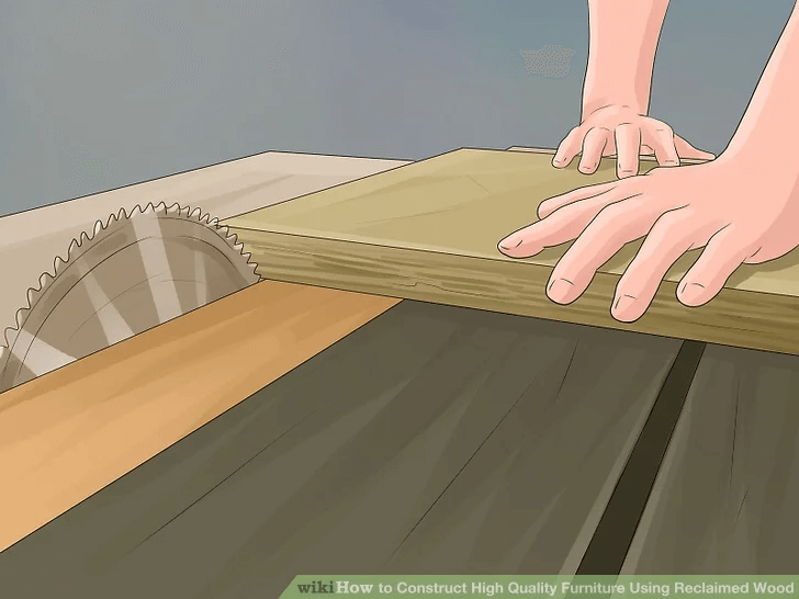 HOW TO BUILD RECLAIMED WOOD DINING TABLE STEP BY STEP