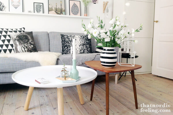 MODERN STYLE ROUND WOOD COFFEE TABLE DESIGN IDEAS
