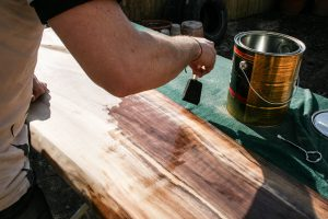DIY WOOD SLAB COFFEE TABLE STEP BY STEP