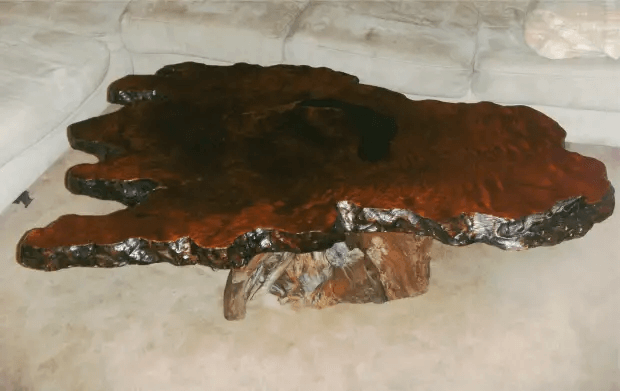 HOW TO CARE BURL WOOD COFFEE TABLE