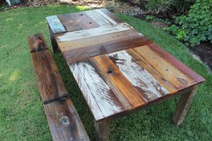 HOW TO CARE RECLAIMED WOOD TABLE TOP