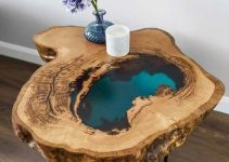 20 CHARMING WOOD AND RESIN TABLE FOR YOUR HOME