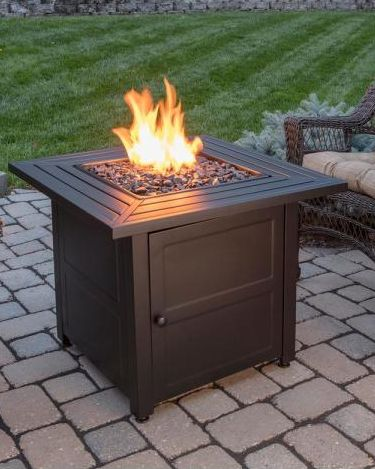 WOOD BURNING FIRE PIT PROPANE TABLE