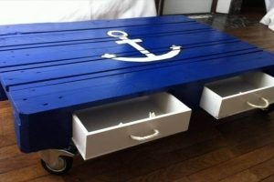 AWESOME PALLET WOOD COFFEE TABLE IDEAS