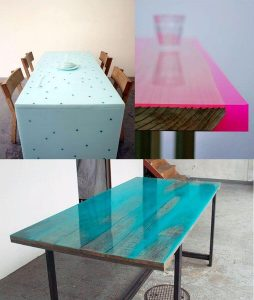 GLASS COVER ON TOP OF WOOD DINING TABLE DESIGN IDEAS