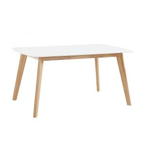 MODERN AND MINIMALIST NATURAL WOOD DINING TABLE DESIGN