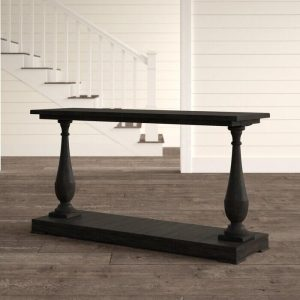 ASHBOURNE SOLID WOOD CONSOLE TABLE IDEAS