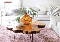 WOOD SLICE COFFEE TABLE, TO BUY OR TO DIY?