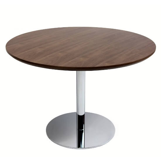 CONTEMPORARY WALNUT WOOD AND STEEL DINING TABLE TOP IDEAS