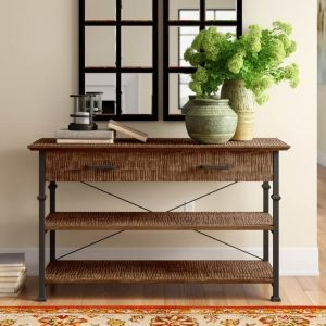 NEWQUAY WOOD CONSOLE TABLE DESIGN IDEAS