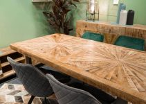 THE POPULAR MANGO WOOD DINING TABLE