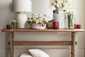 15 AMAZING RECLAIMED WOOD CONSOLE TABLE