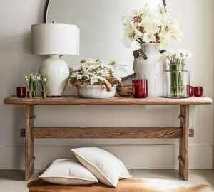AMAZING RECLAIMED WOOD CONSOLE TABLE IDEAS