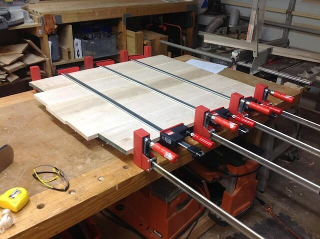 FIFTH PROCEDURE HOW TO JOIN WOOD PLANKS FOR TABLE TOP