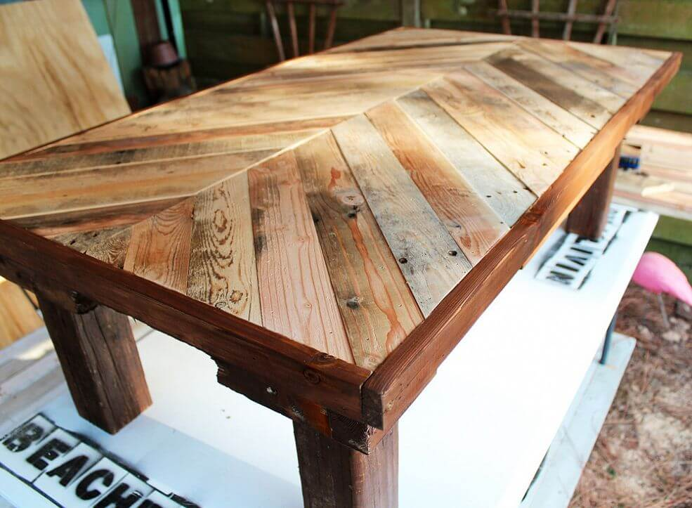 SEVENTH PROCEDURE HOW TO JOIN WOOD PLANKS FOR TABLE TOP