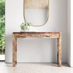 SIMPLY NICE RECLAIMED WOOD CONSOLE TABLE