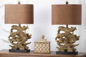 GET YOURSELF THESE UNIQUE DRIFT WOOD TABLE LAMPS