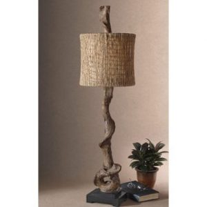 UTTERMOST TRADITIONAL DRIFT WOOD TABLE LAMPS