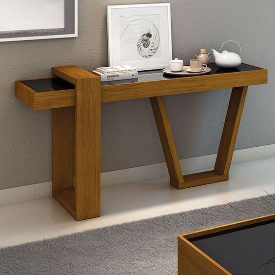 A COUNTER TABLE TEAK WOOD FURNITURE