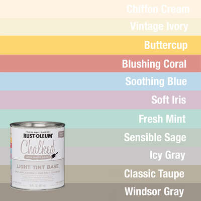 CHALK PAINT BY RUST-OLEUM FOR WOOD FURNITURE
