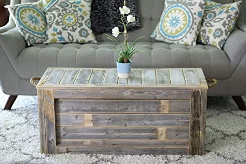 CHEST DISTRESSED WOOD COFFEE TABLE