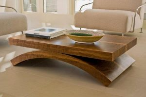 Fantastic Real Wood Coffee Table for Stylish Living Space