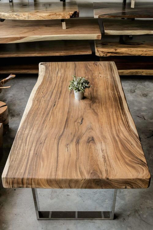 REAL WOOD COFFEE TABLE MID CENTURY PIECE