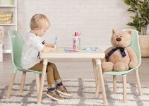 TOP 10 WOODEN TABLE AND CHAIR SET FOR TODDLERS THAT LOOKS SO ADORABLE